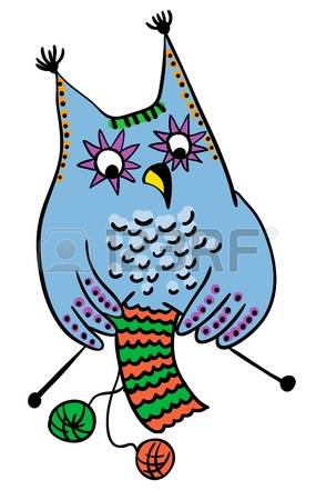 10101237-owl-knitting-wool-handmade-concept-vector