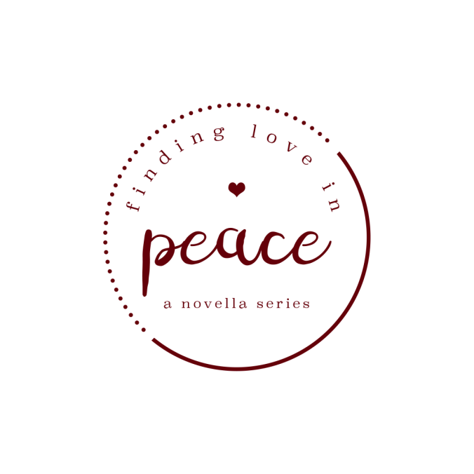 Peace logo RED